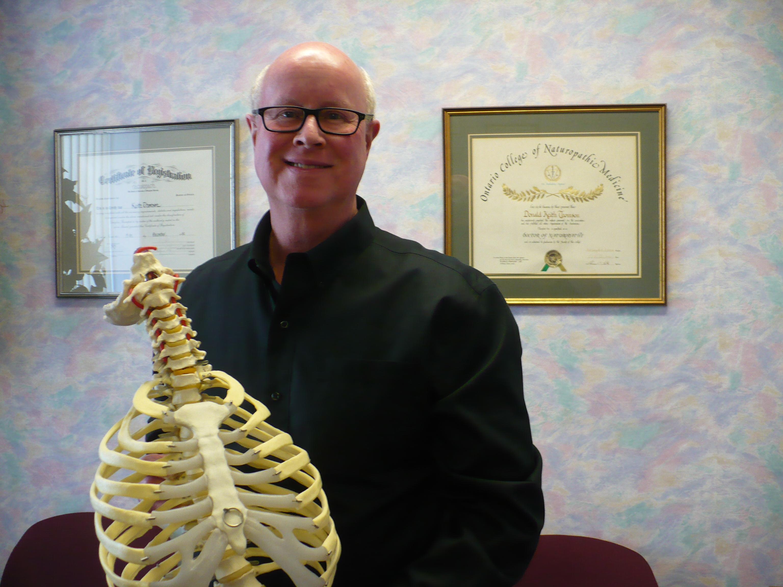 Dr. Keith Thomson Chiropractor Peterborough Ontario